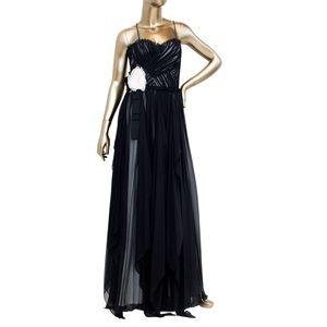 Robert Rodriguez black evening gown, size 6